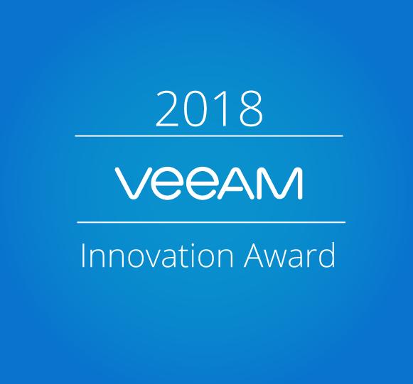 Veeam Innovation Award 2018