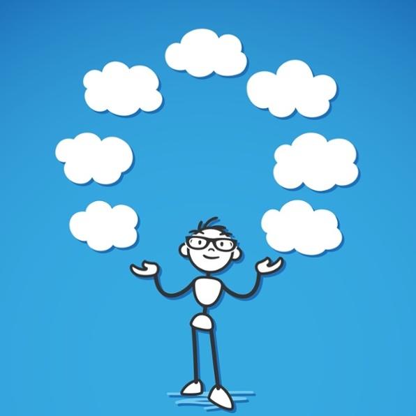 juggling clouds