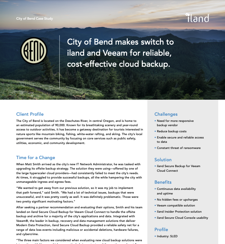 City of Bend Customer Story Featured Image